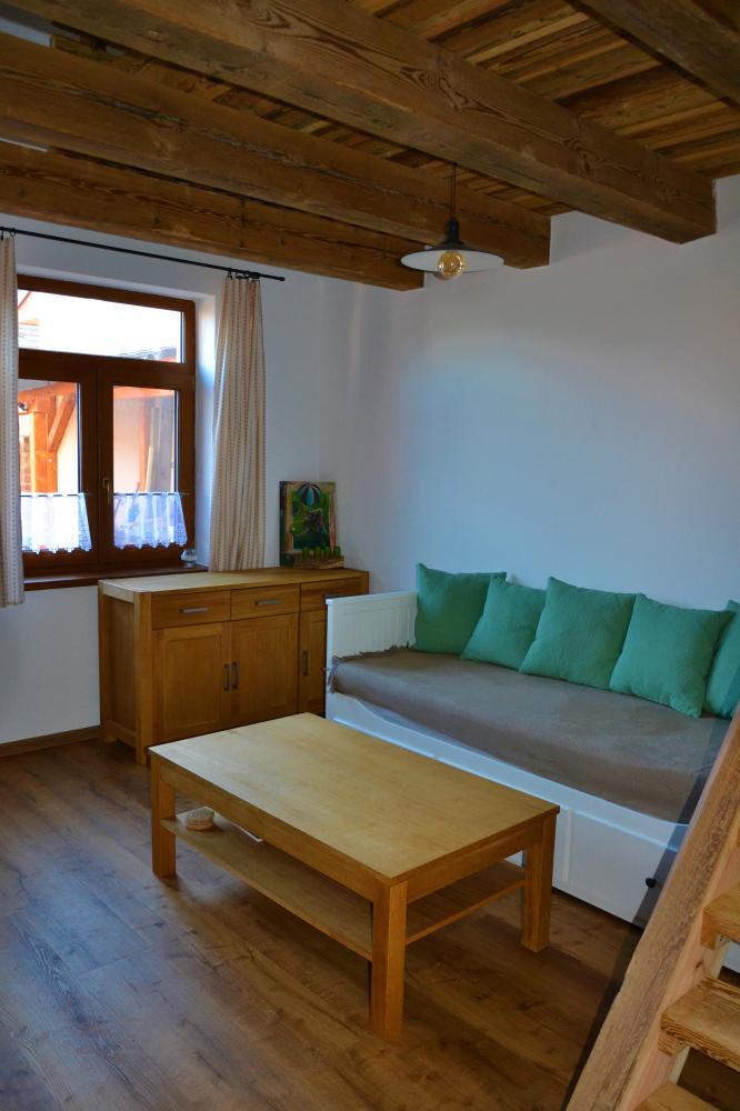 Apartmán s terasou - pokoj