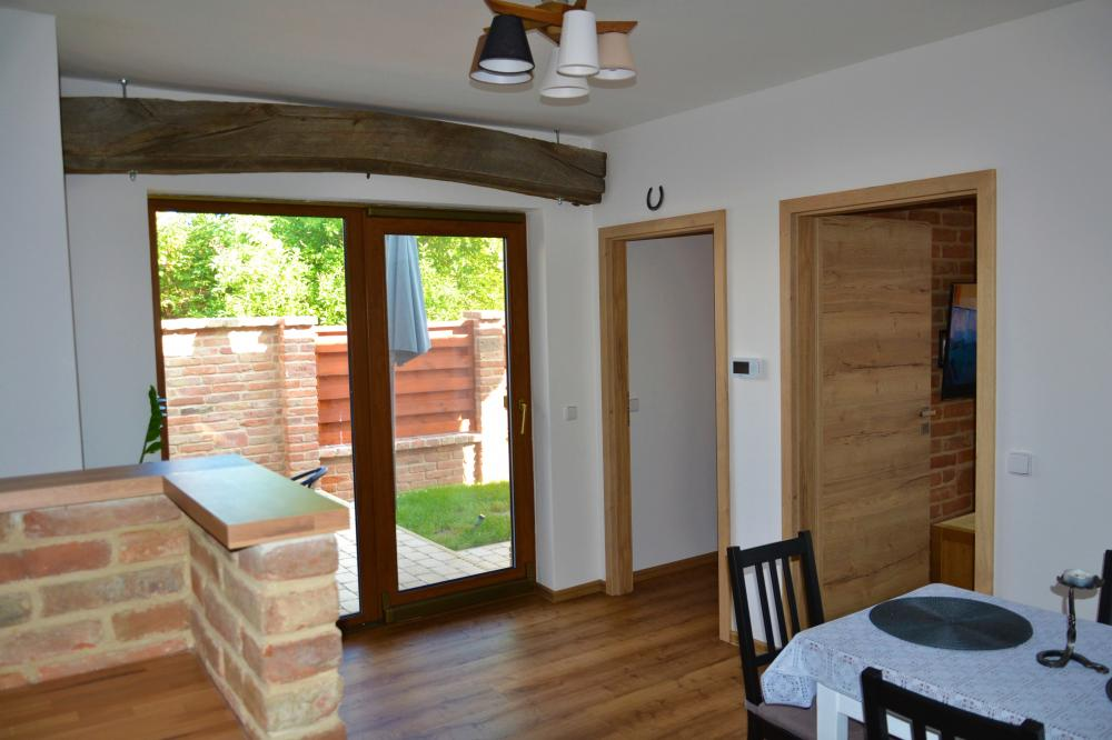 Apartmán s terasou - Jiídelna s kuchyní