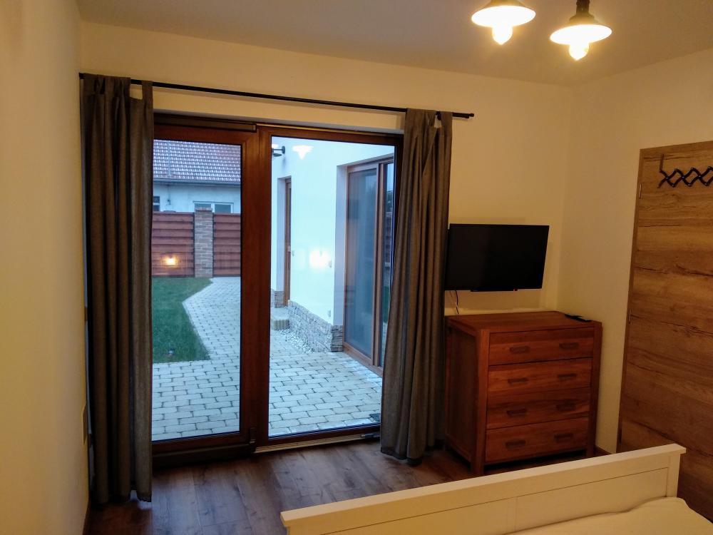 Apartmán s terasou - Ložnice