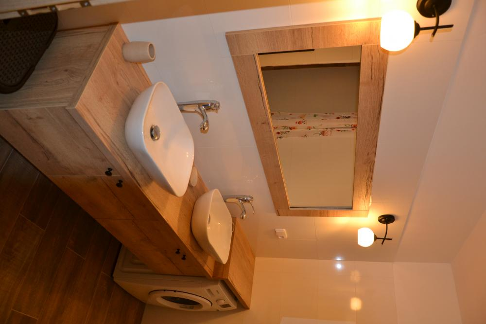 Apartmán s terasou - koupelna