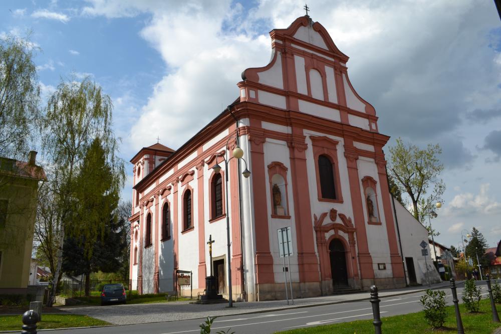 kostel sv.Valentina Příbor
