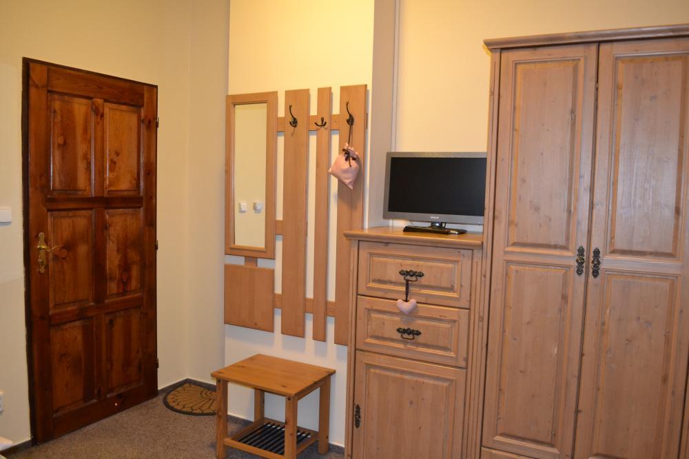 úložný prostor v pokoji č.2