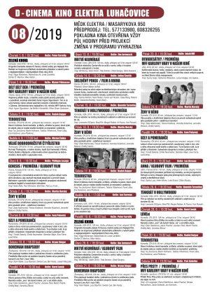 Program kina v srpnu a září