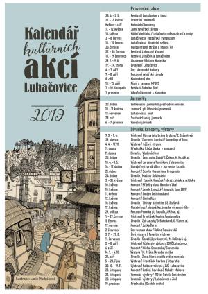 Kulturní akce v Luhačovicích