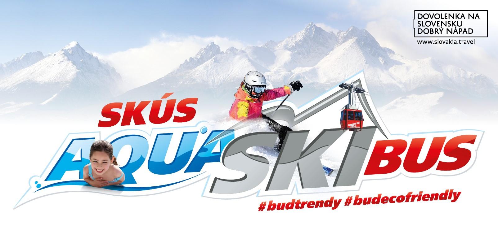 Ski&Aqua Bus v prevádzke od 12.12.2020