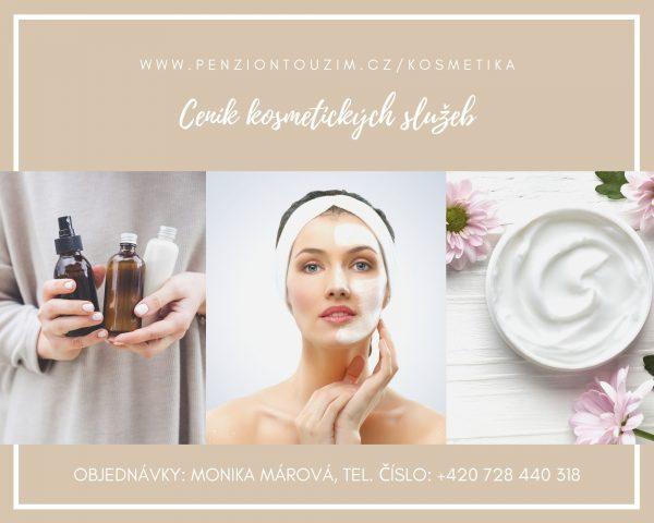 Ceník kosmetických služeb