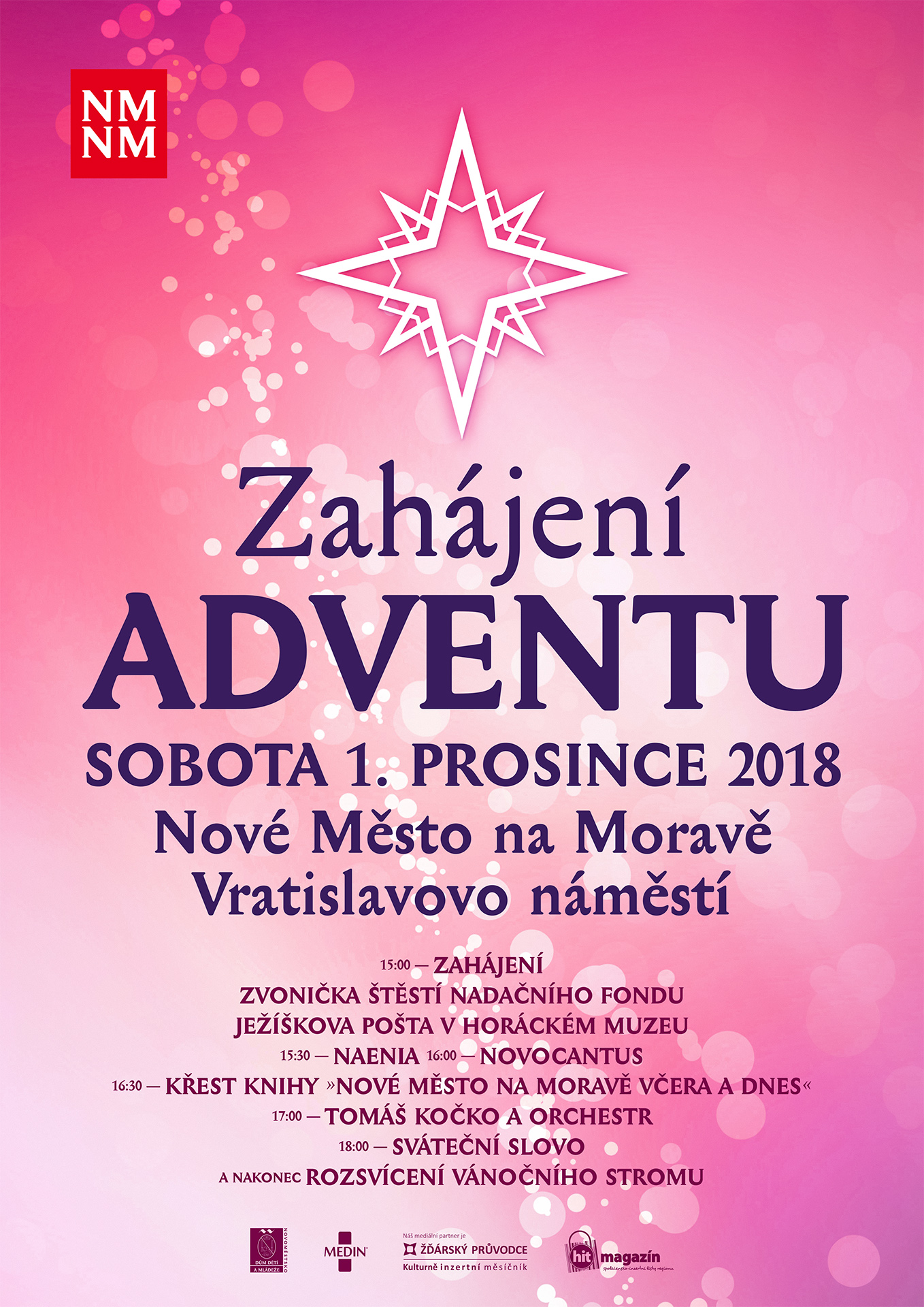 Advent v Novém Městě na Moravě