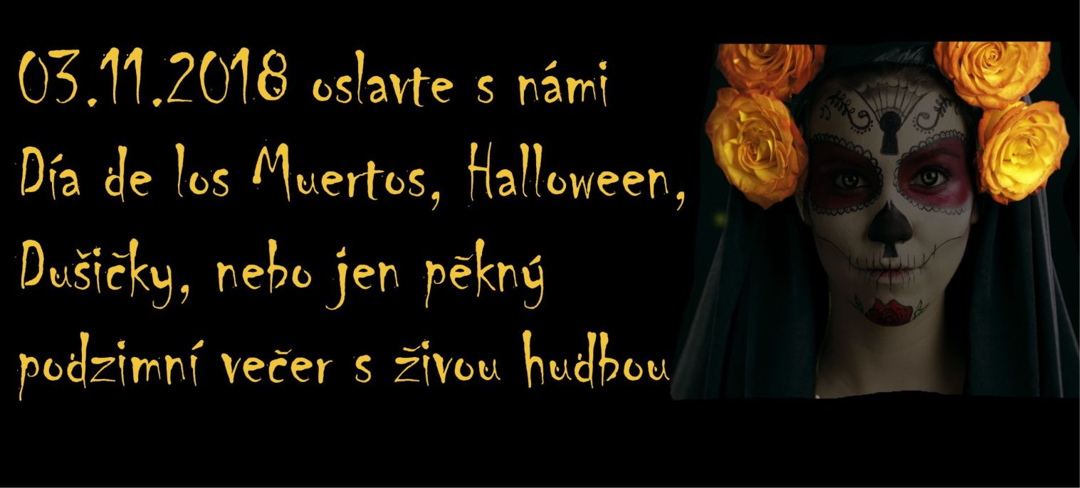Halloween, Día de los Muertos, Dušičky .... Párty