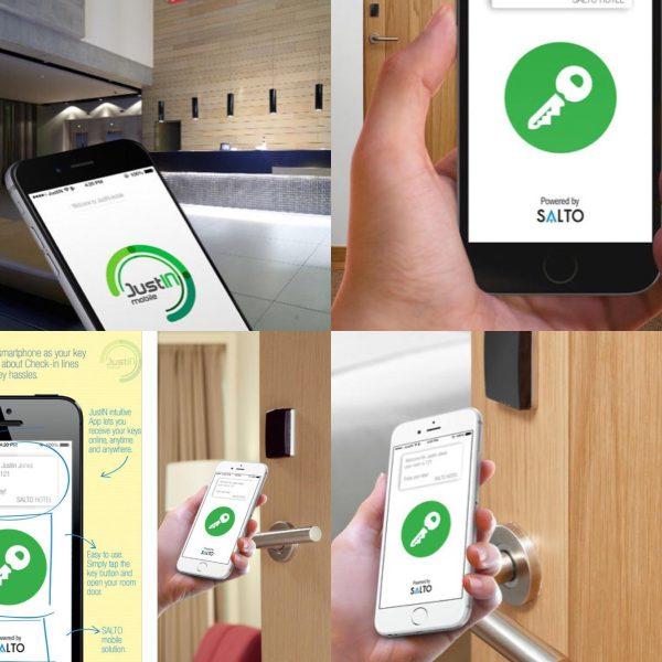 CHECK-IN a vstup do pokoje přez Váš Iphone.