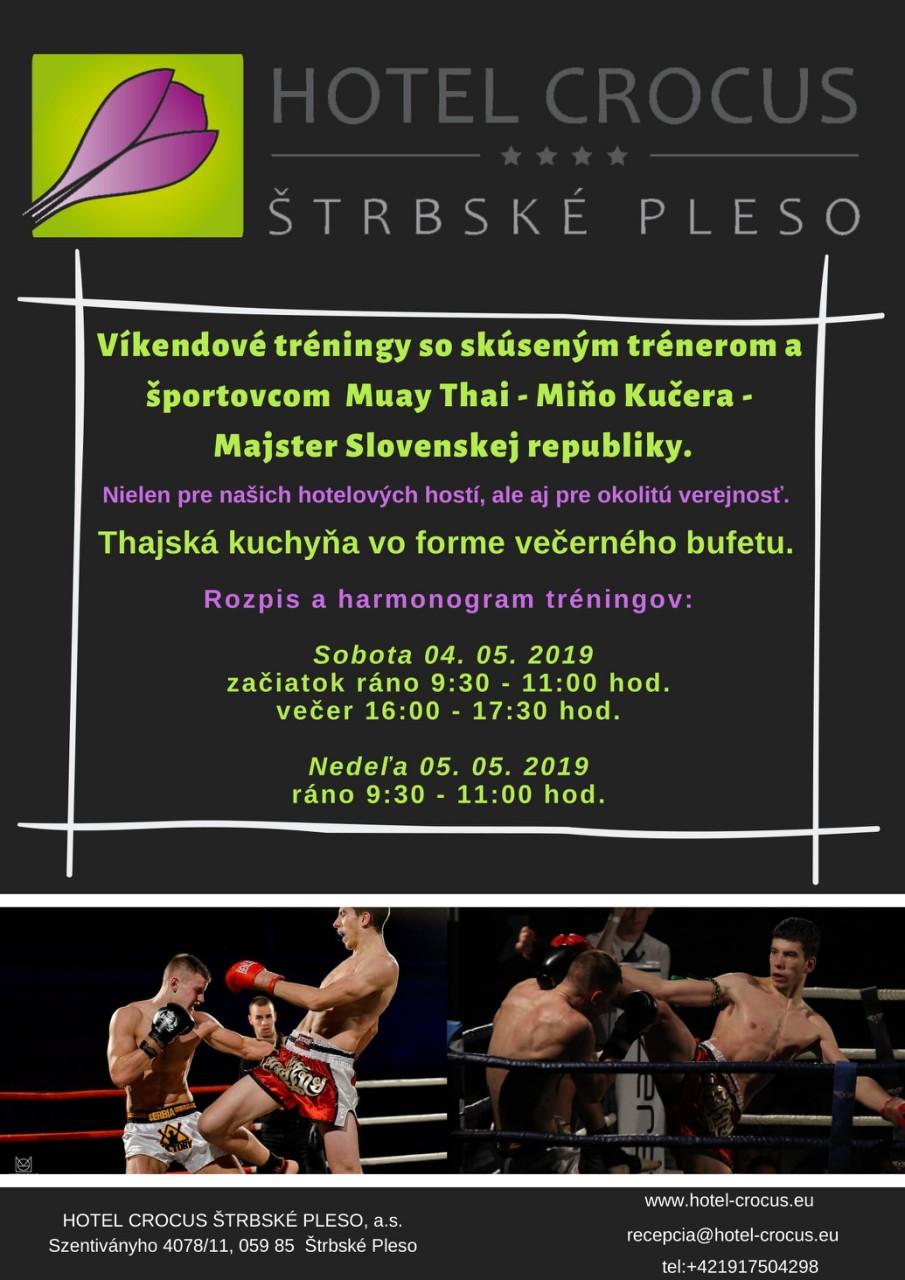 Víkendové tréningy s Majstrom Slovenskej republiky