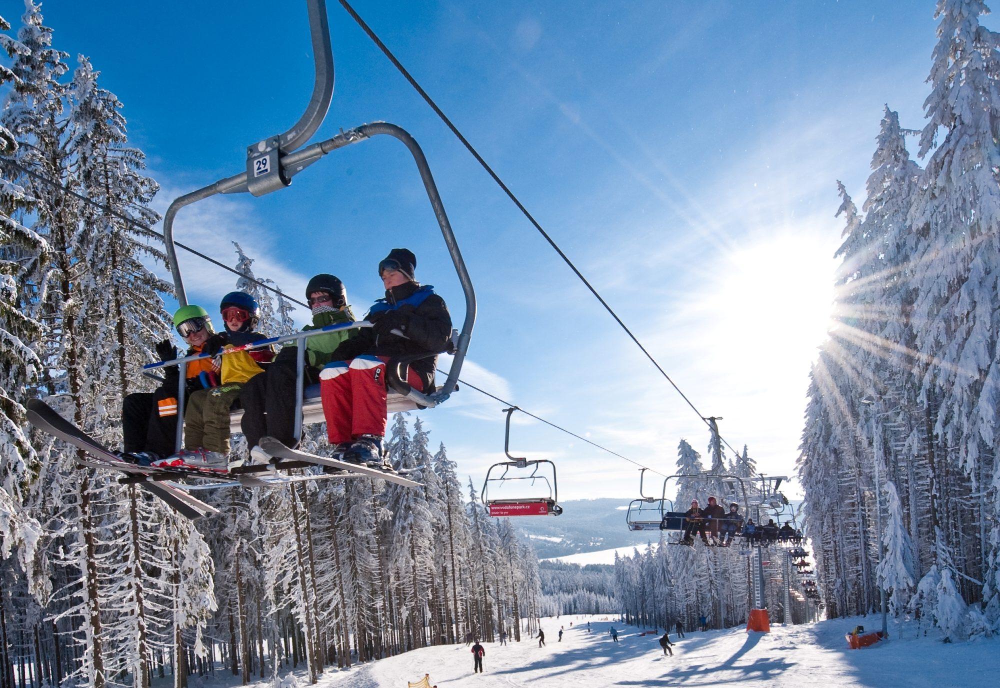 Zima 2019 / 2020 - nové ceníky Skiareál Lipno a Hochficht