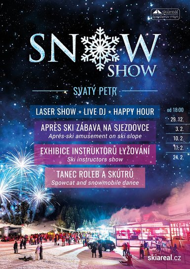 SNOW SHOW Špindlerův Mlýn