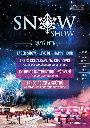 SNOW SHOW 2020 ve Špindlu