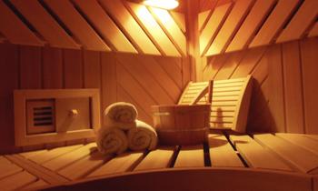 Erholsamer Aufenthalt mit finnischer Sauna