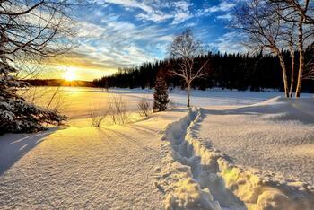 Aktivní zimní pobyt s polopenzí na Vysočině
