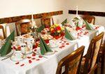 Snídaně - stůl - Ubytování v Praze - Pension Lucie