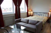 Ložnice 1 apartmán Cordeus - Apartmány Cordeus