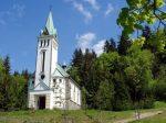 kostel sv. Antonína v Bedřichově - Chata Nisanka
