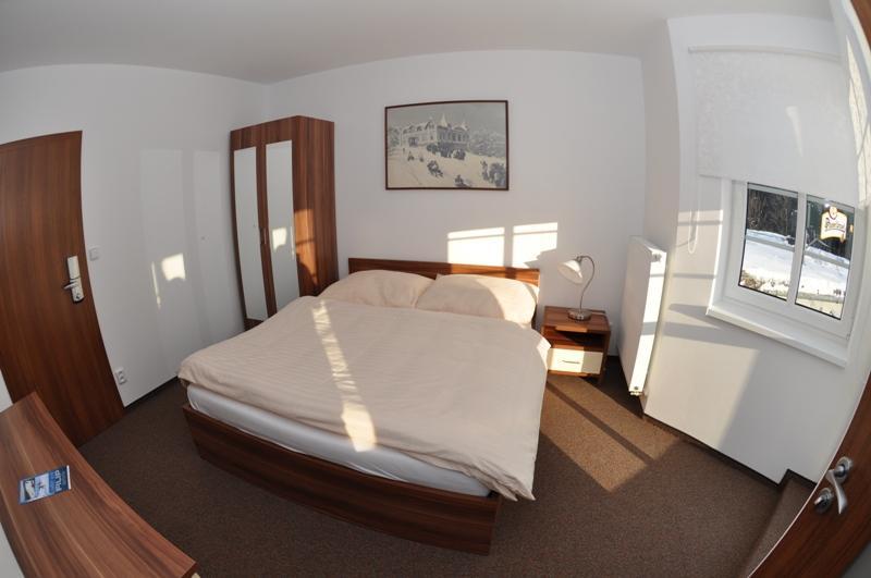 Dvoulůžkový pokoj -1 x manželská postel