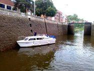 Viking 800 v plavební komoře Praha Podbaba - SP Praha s.r.o.