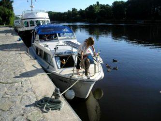 Viking 800 v marině Nelahozeves - SP Praha s.r.o.