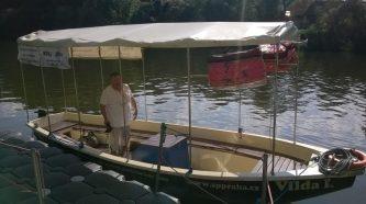 Vilda I. - výletní člun - SP Praha s.r.o.