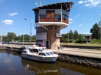 Viking 1000 v plavební komoře Praha Podbaba - SP Praha s.r.o.