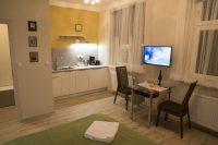 obývací pokoj - SKLEP accommodation - apartmány a hostel v centru Prahy