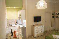 kuchyňský kout - SKLEP accommodation - apartmány a hostel v centru Prahy
