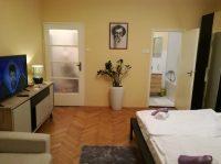 obývací ložnice - SKLEP accommodation - apartmány a hostel v centru Prahy