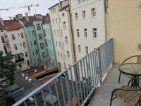 balcony view - SKLEP accommodation - apartmány a hostel v centru Prahy