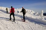 Jízda na běžkách - Horský penzion ČERNAVA