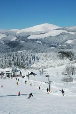 Sjezdové lyžování v areálu  - Horský penzion ČERNAVA