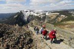 Turistika - Studniční hora, výstup na Sněžku - Horský penzion ČERNAVA